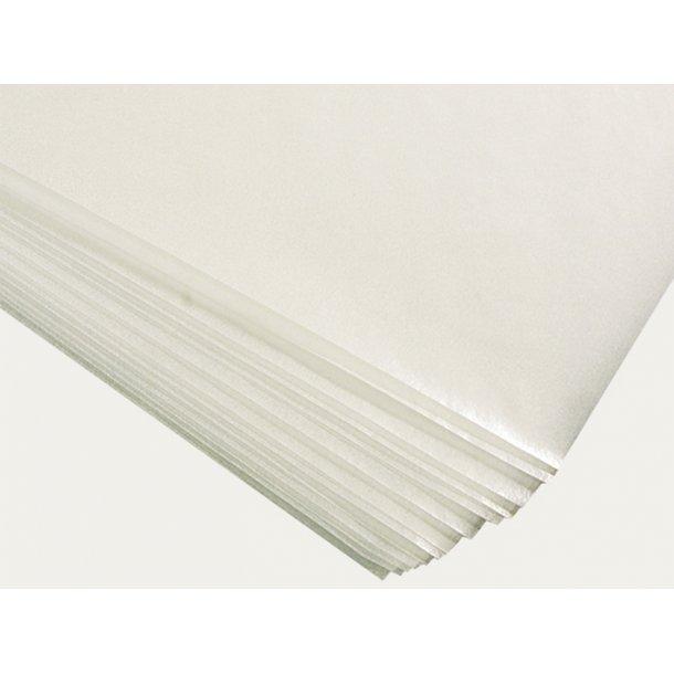 Syrefri silkepapir 17-18 g. 50 x 75 cm. uden buffer (KLUG)